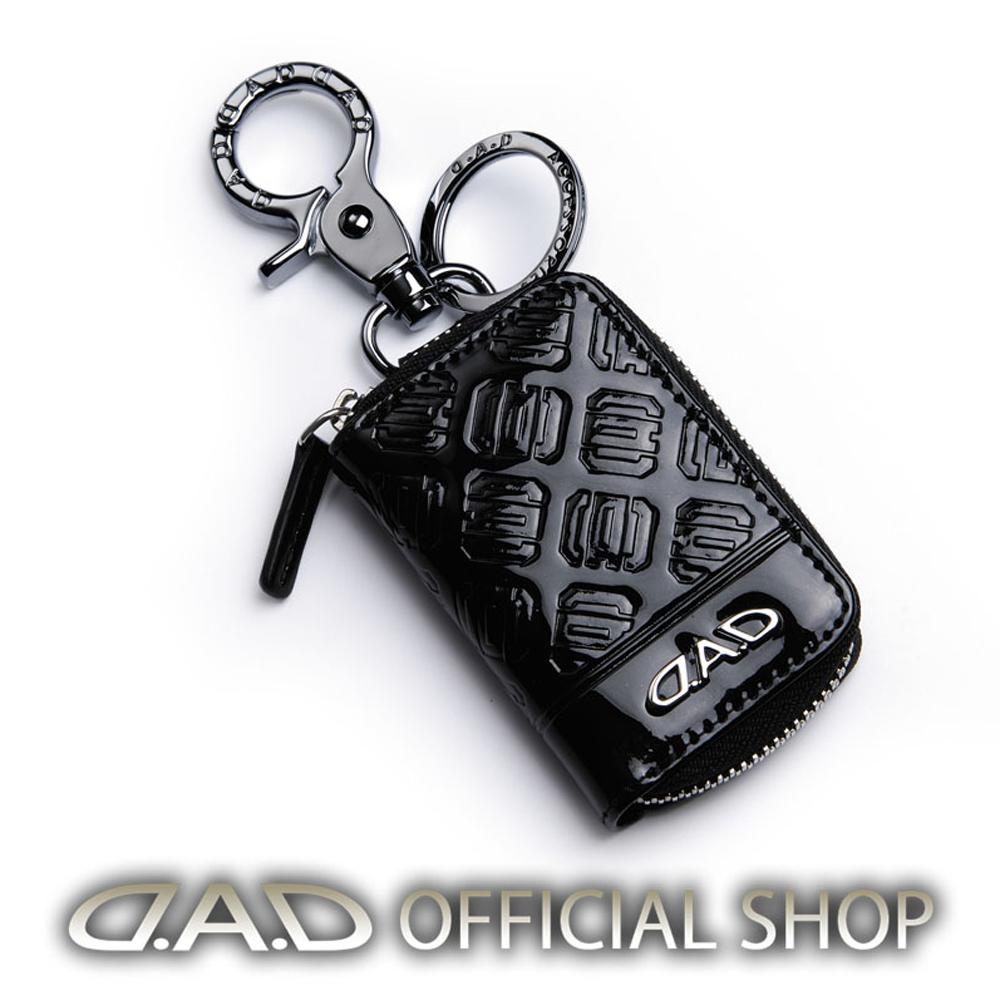 D.A.D OFFICIAL SHOP 公式D.A.Dショップ 8 15限定 ポイント26.5倍 LUXURY スマートキーケース2 シルバー HA566 ギャルソン エナメル 日本 ブラック DAD 4560318770164 本店 タイプモノグラムレザー GARSON