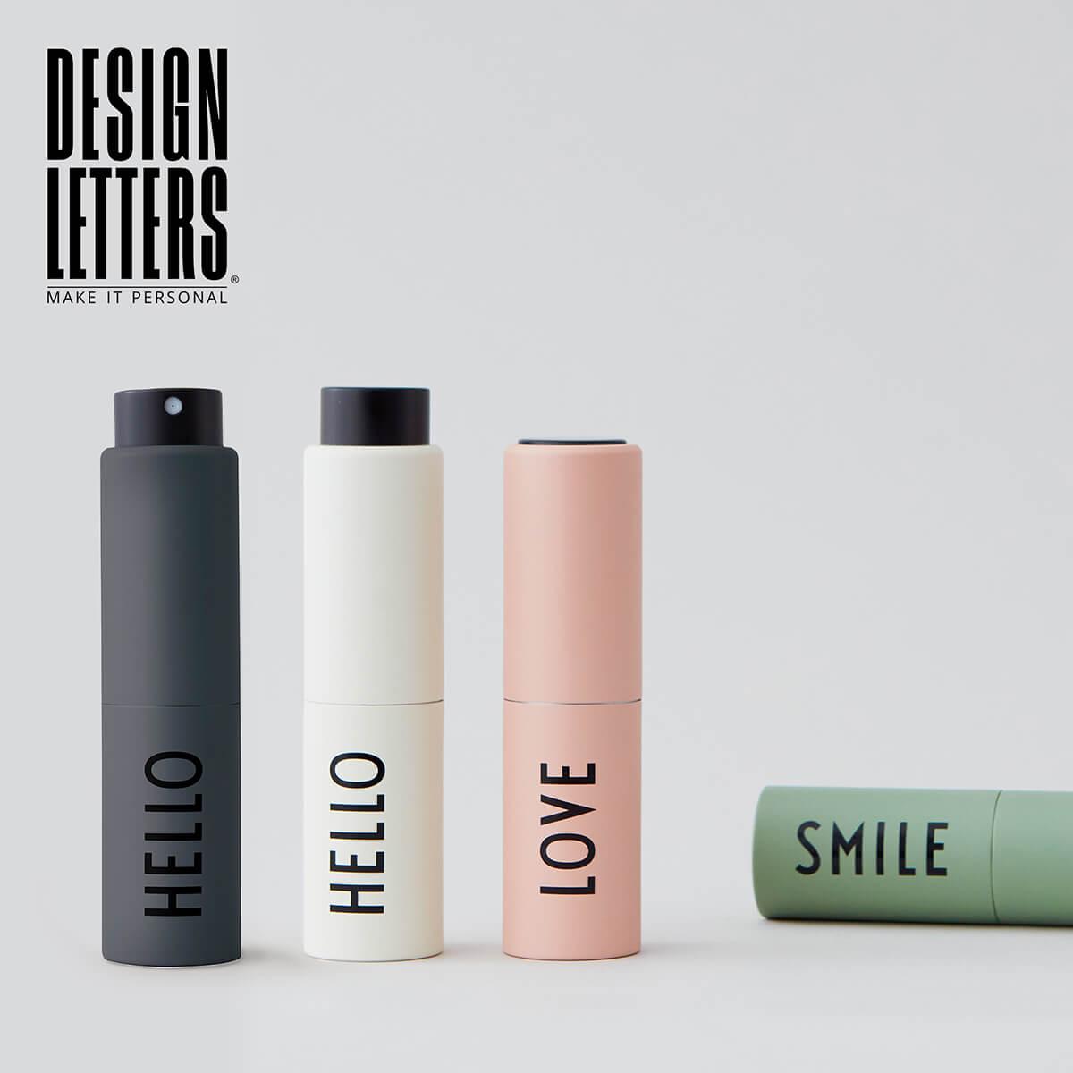 DESIGN LETTERS デザインレターズ ハンドスプレーケース 流行 おしゃれ 北欧 携帯 キッズ 持ち運び スプレー 日時指定 ケース