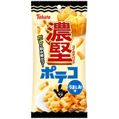 【東ハト】濃堅パック〈ポテコうましお味〉45g(6袋入)