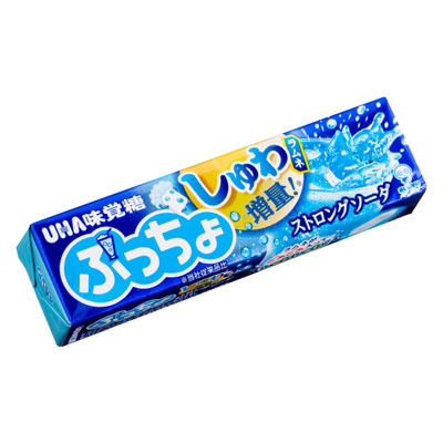 再入荷 予約販売 UHA味覚糖 100円 ぷっちょスティック〈ストロングソーダ〉 10個入 価格