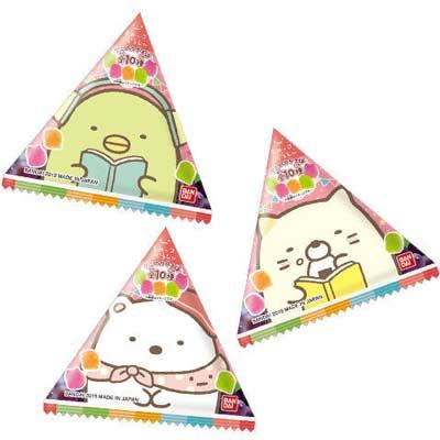 バンダイキャンディ 70円 すみっコぐらし きもちぎゅ~っとカラフルグミです 開店祝い 20袋入 5☆好評