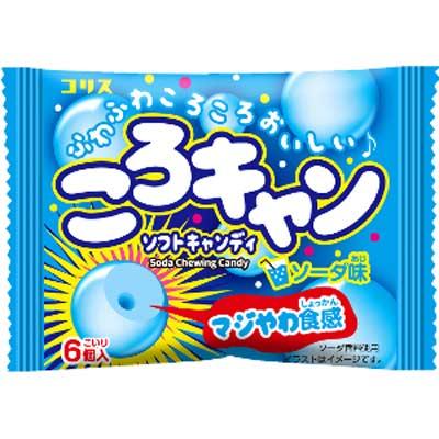 日本産 コリス 30円 保証 ころキャン〈ソーダ味〉 20個入