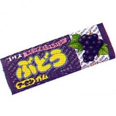 コリス 20円 ぶどうフーセンガム 40個入 買物 誕生日プレゼント 当たり付き
