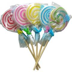 【駄菓子】【棒付きキャンディ】うずまきペロペロキャンディ(40本入)