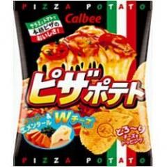 お得 カルビー 65円 完全送料無料 ピザポテト25g 小袋 12個入