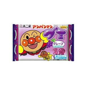 【不二家】70円 アンパンマングミ ぶどう味(20個入)