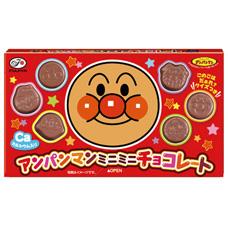【不二家】110円 アンパンマンミニミニチョコレート(10個入)