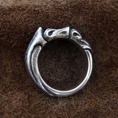 送料無料 リング メンズ シルバー 指輪 ROSSO -for ever loop-D.four・ディーフォー DF-059 971292