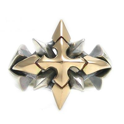 【送料無料】シルバー×ゴールドリング Shining Crystal /DAgDART・ダグダート DR-226G  971292