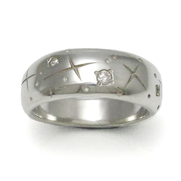 PennyBlack シルバーリング レディス 指輪 星 スター キュービックジルコニア 971292 P-015