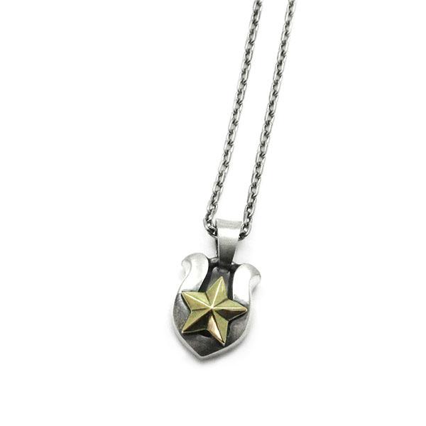 ペンダント 星 スター シルバー×真鍮 アクセサリー DAgDART ダグダート P-019 971292