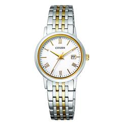 【クーポン利用で10%OFF】正規品 CITIZEN シチズンEW1584-59C MADE IN JAPAN 男女兼用腕時計  フォーマル