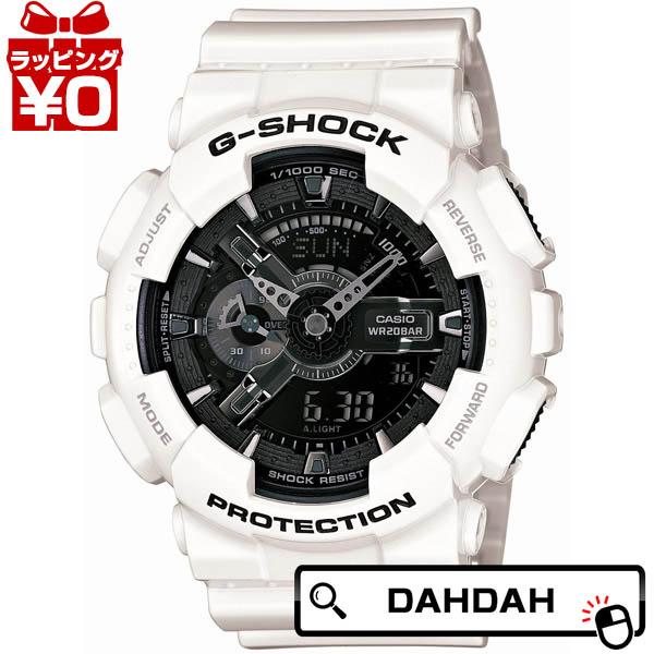 正規品 GA-110GW-7AJF CASIO カシオ G-SHOCK 白 ジーショック メンズ腕時計 送料無料 アスレジャー
