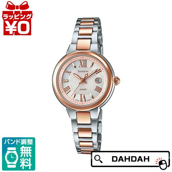 SHE-4516SBZ-9AJF CASIO カシオ お買い得 SHEEN シーン 正規品 送料無料 レディース腕時計 売却 ブランド