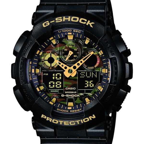 【エントリーP19倍+クーポン10%OFF】正規品 GA-100CF-1A9JF CASIO  カシオ G-SHOCK ジーショック メンズ腕時計  アスレジャー