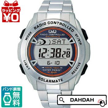 【クーポン利用で10%OFF】正規品 MHS7-200  Q&Q キューアンドキュー メンズ腕時計 送料無料 フォーマル