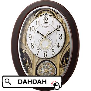 【クーポン利用で10%OFF】正規品 4MN526RH06 リズム時計工業 Small World 掛け時計 送料無料