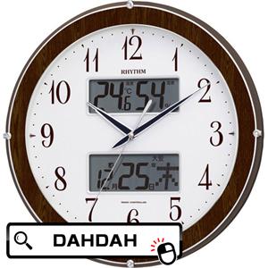 【クーポン利用で10%OFF】正規品 4FY622SR23 リズム時計工業 RHYTHM 掛け時計 送料無料