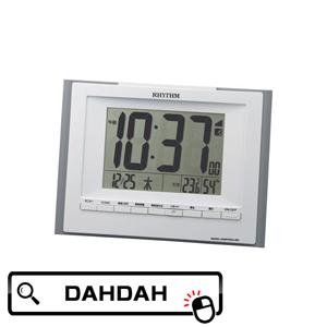 8RZ168SR08 リズム時計工業 RHYTHM 男女兼用 クーポン利用で10%OFF ブランド 送料無料 正規品 国産品 置き時計