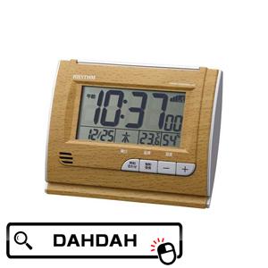 8RZ165SR07 全国一律送料無料 リズム時計工業 通信販売 RHYTHM クーポン利用で10%OFF ブランド 置き時計 正規品 送料無料