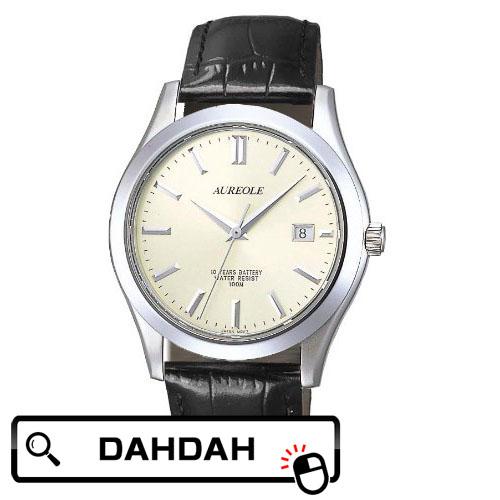 【クーポン利用で10%OFF】正規品 AUREOLE オレオール SW-409M-7 メンズ腕時計 送料無料