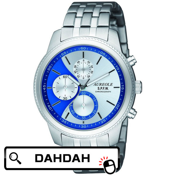 【クーポン利用で10%OFF】正規品 AUREOLE オレオール SW-575M-5 メンズ腕時計 送料無料