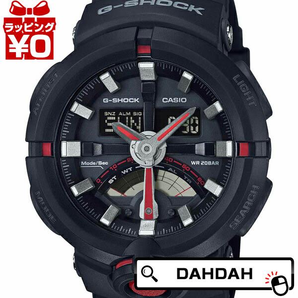 【クーポン利用で10%OFF】正規品 G-SHOCK ジーショック Gショック CASIO カシオ GA-500-1A4JF G-SHOCK CASIO メンズ腕時計  アスレジャー