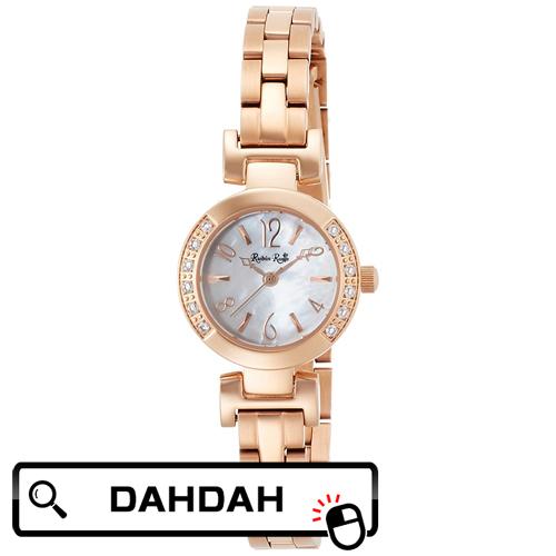 正規品 R504PWHMOP ルビンローザ Rubin Rosa レディース腕時計 送料無料 ウオッチ エレガント ソーラー ホワイトシェル 白文字盤 ピンクゴールド メタルバン