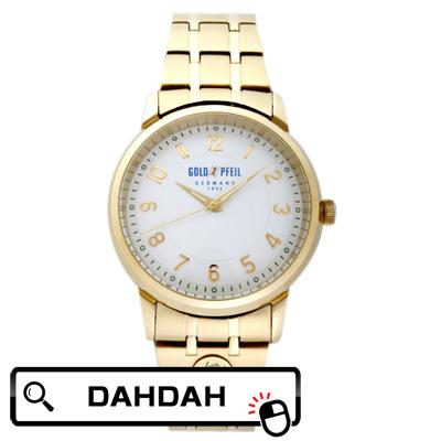 【クーポン利用で10%OFF】正規品 G21001GW GOLD PFEIL ゴールドファイル ウォッチ メンズ腕時計 送料無料