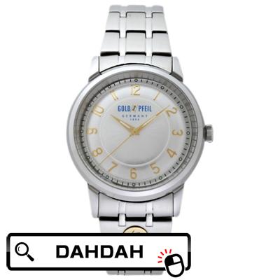 【クーポン利用で10%OFF】正規品 G21001SS GOLD PFEIL ゴールドファイル ウォッチ メンズ腕時計 送料無料