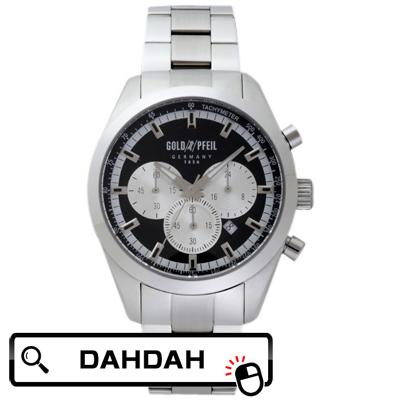 【クーポン利用で10%OFF】正規品 G41006SB GOLD PFEIL ゴールドファイル ウォッチ メンズ腕時計 送料無料