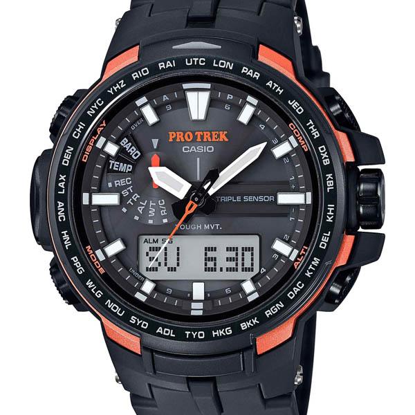 【クーポン利用で10%OFF】正規品 PRW-6100Y-1JF CASIO カシオ PROTREK/プロトレック メンズ腕時計  アスレジャー