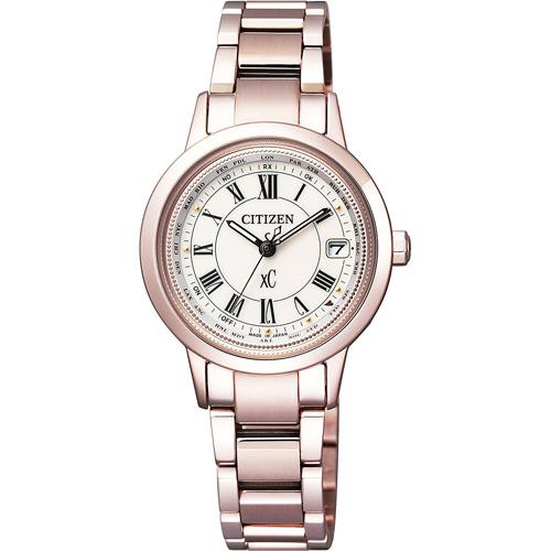 【クーポン利用で10%OFF】正規品 EC1144-51W CITIZEN シチズン クロスシー チタニアライン レディース腕時計  フォーマル