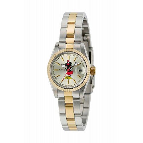 クーポン利用で10%OFF 正規品 MNE LADYS 2T Disny ディズニー MICKEY レディスメタル キッズ用腕時計 送料無料EHWD29I
