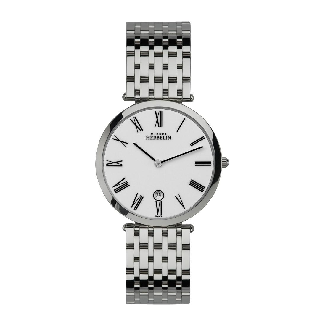 【クーポン利用で10%OFF】414/B01 MICHEL HERBELIN ミッシェル エルブラン イプシロン メンズ 腕時計 国内正規品 送料無料