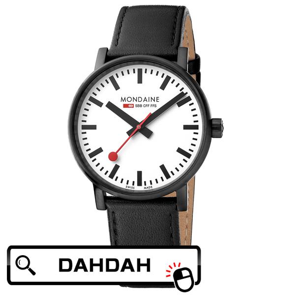 【クーポン利用で10%OFF】MSE.40111.LB MONDAINE モンディーン スイス 鉄道時計 メンズ 腕時計 国内正規品 送料無料