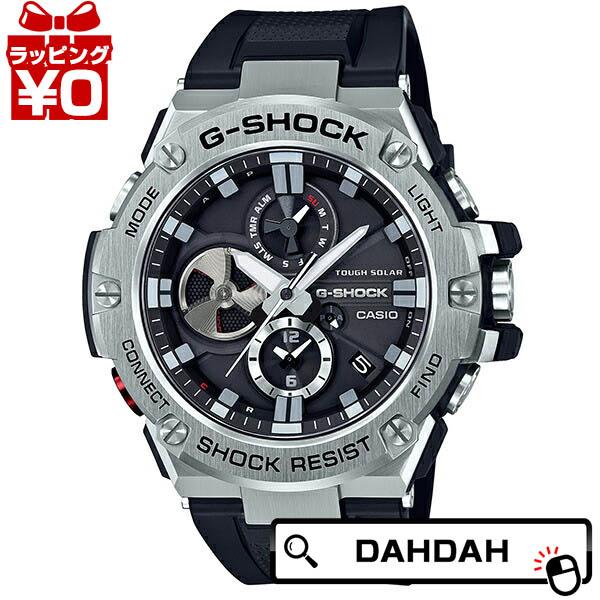G-SHOCK Gショック ジーショック CASIO カシオ モバイルリンク機能 G-STEEL 限定品 安心の定価販売 Gスチール 腕時計 送料無料 メンズ GST-B100-1AJF ブランド プレゼント クーポン利用で2000円OFF 国内正規品