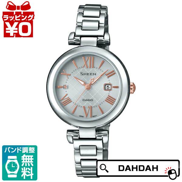 SHEEN シーン CASIO カシオ スワロフスキー SHS-4502D-7AJF レディース 腕時計 国内正規品 送料無料