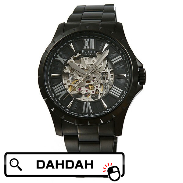 2becc5f99b 誕生ラッピング無料可能 プレゼント 日本製自動巻き 腕時計 モテル かっこいい Furbo design 【腕時計