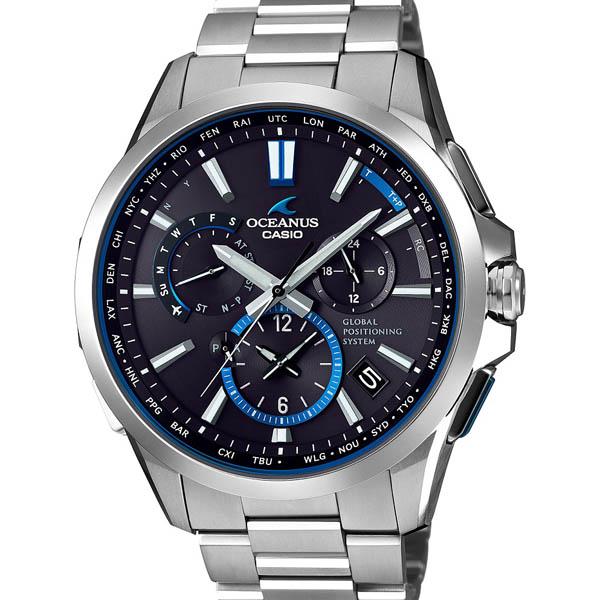 【クーポン利用で10%OFF】正規品 CASIO カシオ OCW-G1100T-1AJF OCEANUS メンズ腕時計