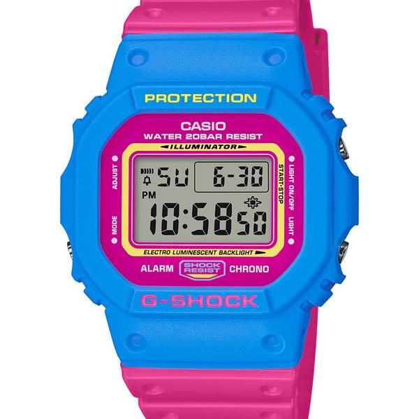 【クーポン利用で10%OFF】THROW BACK1983 ストリートカルチャーにフォーカスしたNewモデル DW-5600TB-4BJF CASIO カシオ G-SHOCK ジーショック gshock Gショック メンズ 腕時計 国内正規品