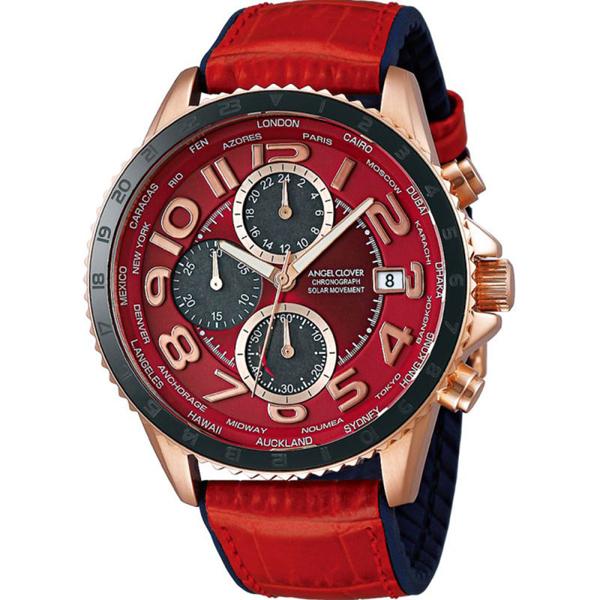 【クーポン利用で10%OFF】モンド ソーラー MOS44PRE-RE Angel Clover エンジェルクローバー メンズ 腕時計 国内正規品 送料無料