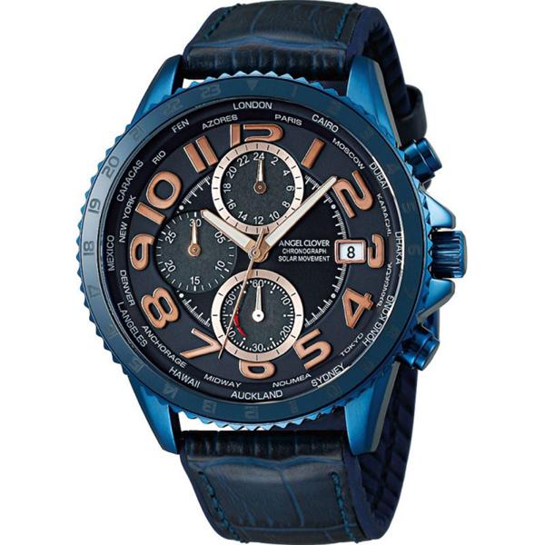 【クーポン利用で10%OFF】モンド ソーラー MOS44NNV-NV Angel Clover エンジェルクローバー メンズ 腕時計 国内正規品 送料無料