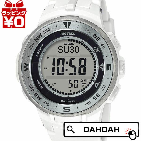 ホワイト 白 メタルベセル PRG-330-7JF PRO TREK プロトレック CASIO カシオ メンズ 腕時計 国内正規品 送料無料