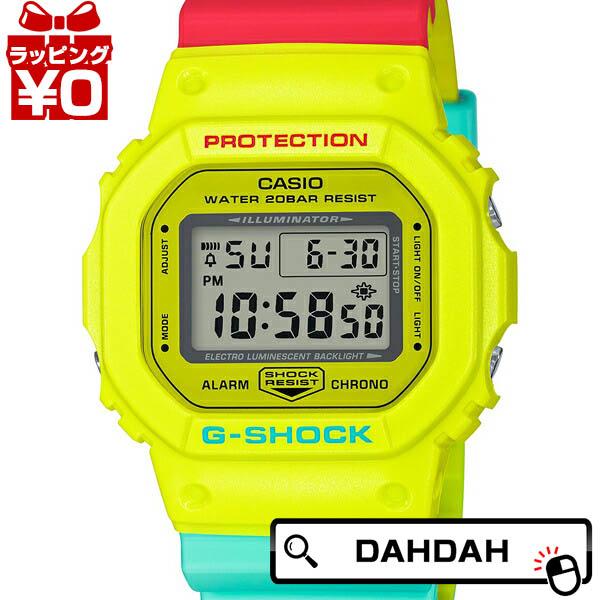 ブリージー ラスタカラー 黄 赤 緑 DW-5600CMA-9JF G-SHOCK Gショック ジーショック カシオ CASIO メンズ 腕時計 国内正規品 送料無料