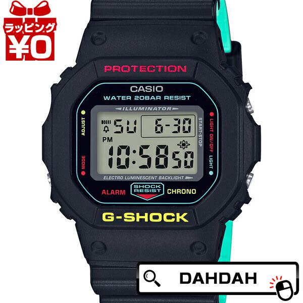 【クーポン利用で10%OFF】ブリージー ラスタカラー ブラック 黒 DW-5600CMB-1JF G-SHOCK Gショック ジーショック カシオ CASIO メンズ 腕時計 国内正規品