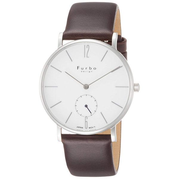 【クーポン利用で10%OFF】白文字盤 ホワイト F01-SWHBR Furbo Design フルボデザイン メンズ 腕時計 国内正規品 送料無料