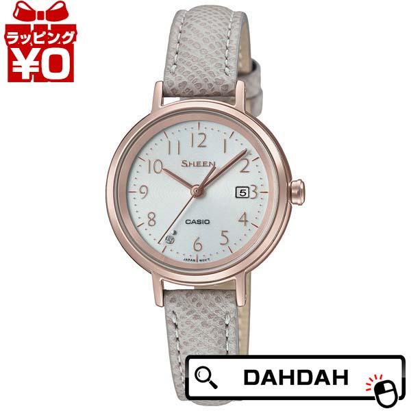 ソーラー発電 SHS-D100CGL-7AJF SHEEN シーン CASIO カシオ レディース 腕時計 国内正規品 送料無料
