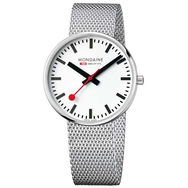 【クーポン利用で10%OFF】ミニジャイアント MSX.4211B.SM MONDAINE モンディーン スイス国鉄時計 メンズ 腕時計 国内正規品 送料無料