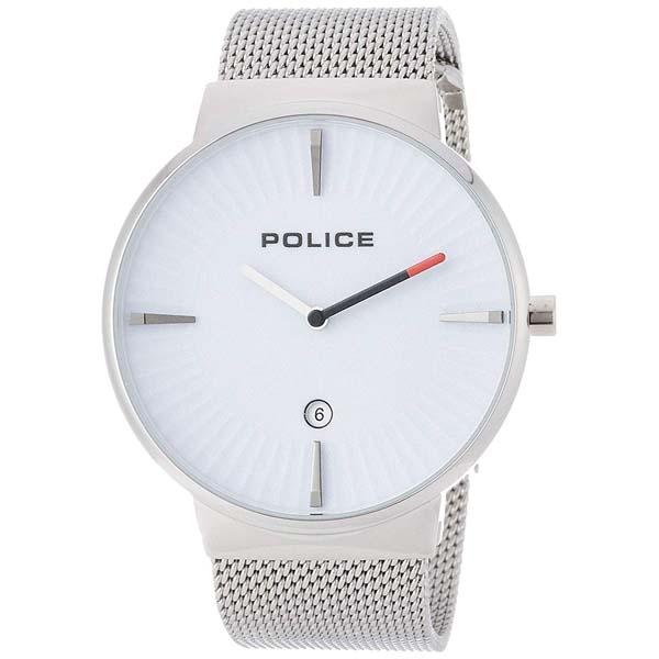 【クーポン利用で10%OFF】白文字盤 ホワイト 829084 PL.15436JS/04MM POLICE ポリス メンズ 腕時計 国内正規品 送料無料